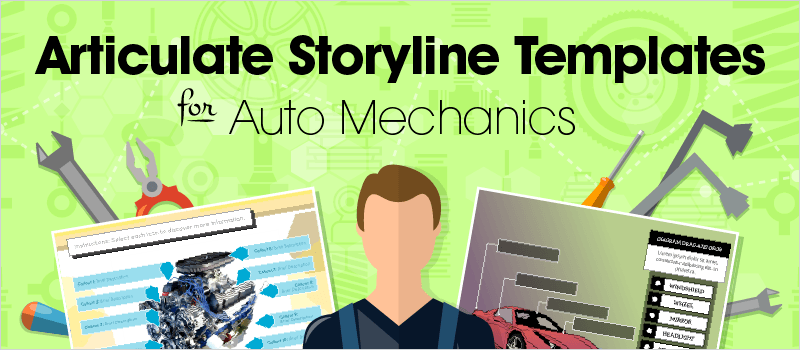 Articulate Storyline Templates for Auto Mechanics - eLearning Brothers thumbnail