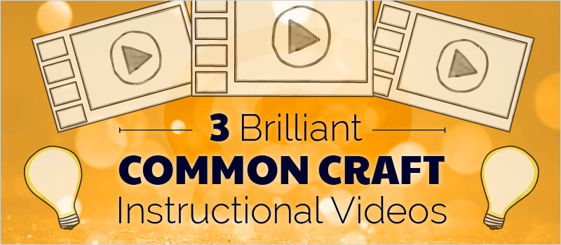 3 Brilliant Common Craft Instructional Videos - eLearning Brothers thumbnail