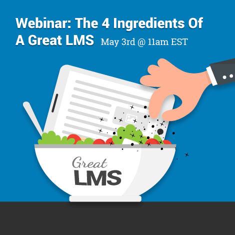 The 4 Ingredients Of A Great LMS - Webinar | LearnUpon thumbnail