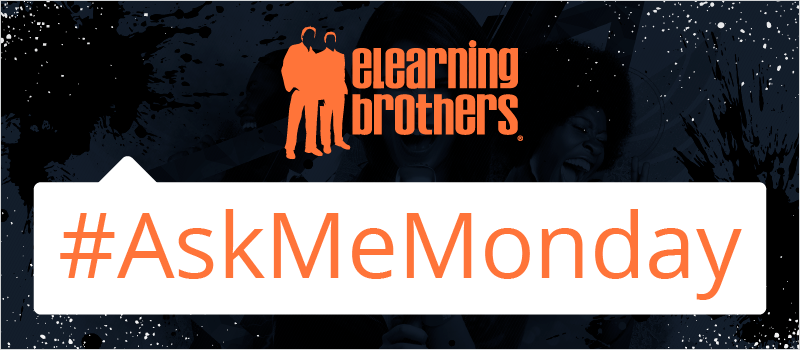 Adam Cannon Responds to #AskMeMonday on Instructional Design | eLearning Brothers thumbnail