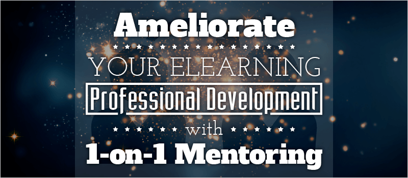 Ameliorate Your eLearning Professional Development with 1-on-1 Mentoring | eLearning Brothers thumbnail