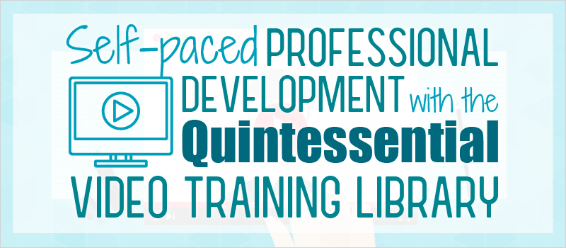 Self-paced Professional Development with the Quintessential Video Training Library | eLearning Brothers thumbnail