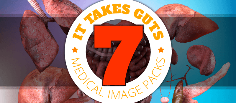 It Takes Guts: 7 Medical Image Packs | eLearning Brothers thumbnail