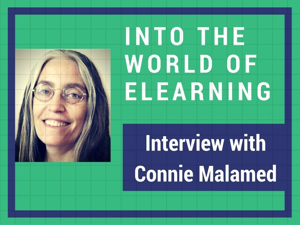 Into the Elearning world — Interview with an Instructional designer, Connie Malamed thumbnail