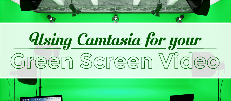 Webinar: Using Camtasia for your Green Screen | eLearning Brothers thumbnail