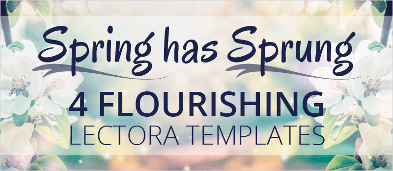 Spring has Sprung: 4 Flourishing Lectora Templates | eLearning Brothers thumbnail