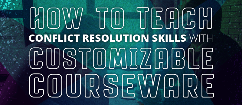How to Teach Conflict Resolution Skills with Customizable Courseware | eLearning Brothers thumbnail