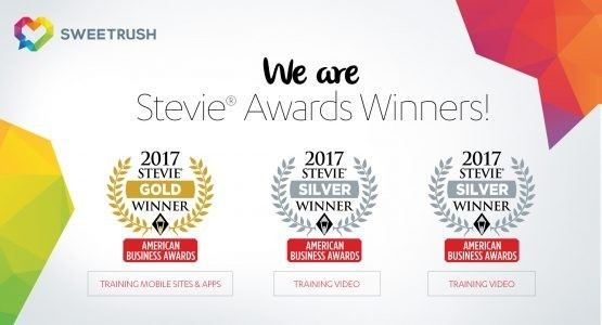 SweetRush Honored With Three Stevie Awards - eLearning Industry thumbnail