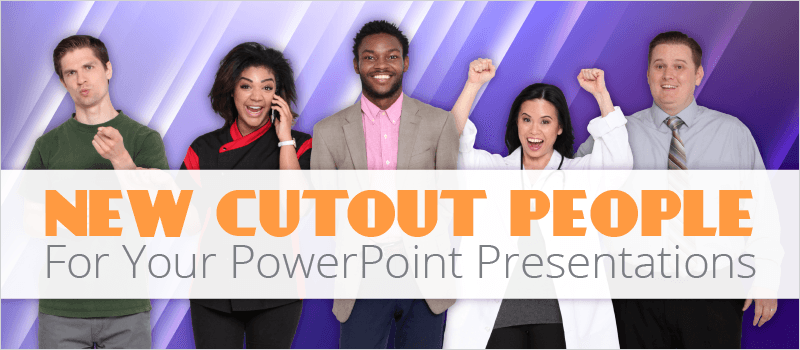 New Cutout People For Your PowerPoint Presentations | eLearning Brothers thumbnail