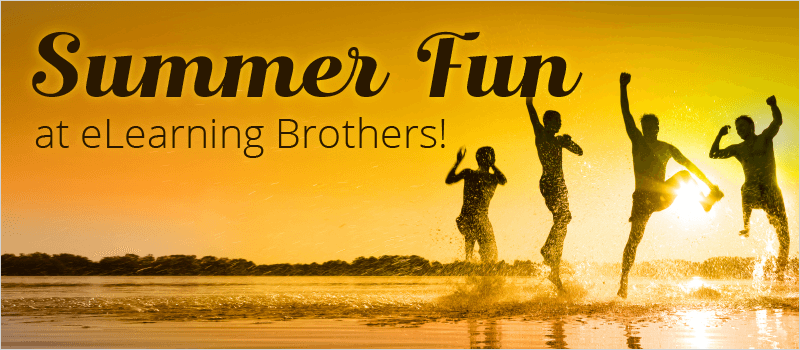 Summer Fun at eLearning Brothers! | eLearning Brothers thumbnail
