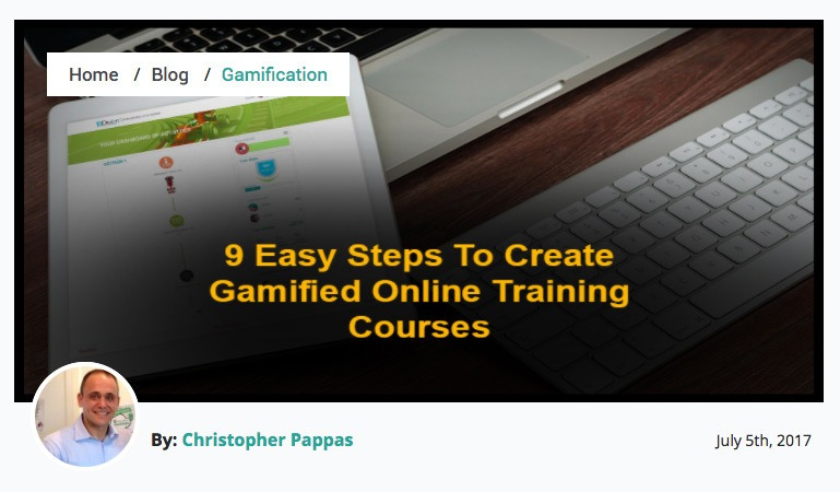 9 Easy Steps To Create Gamified Online Training Courses - EIDesign thumbnail