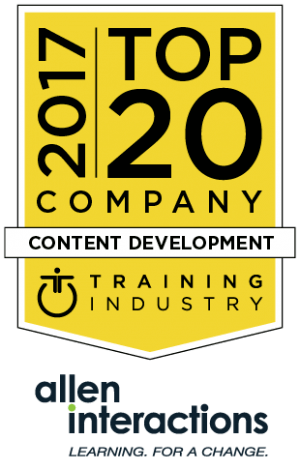Allen Interactions In The Top 20 Content Development Companies List For 2017 - eLearning Industry thumbnail