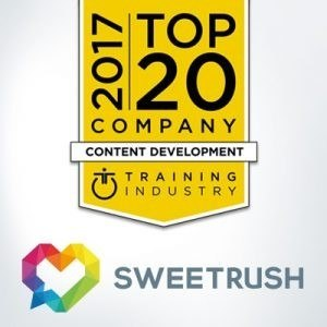 SweetRush Named A Top 20 Content Development Company By Training Industry - eLearning Industry thumbnail