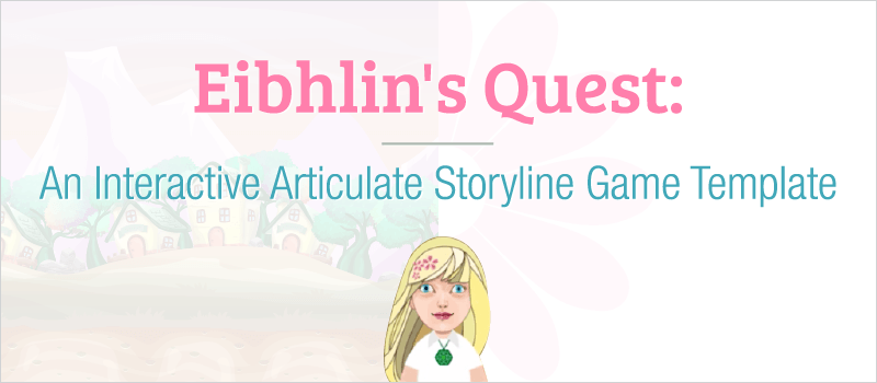 Eibhlin's Quest: An Interactive Articulate Storyline Game Template | eLearning Brothers thumbnail