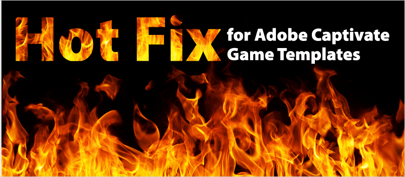 Hot Fix for Adobe Captivate Game Templates | eLearning Brothers thumbnail