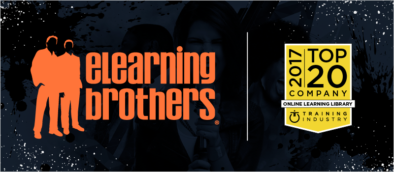 eLearning Brothers Named Top 20 Learning Library by Training Industry | eLearning Brothers thumbnail