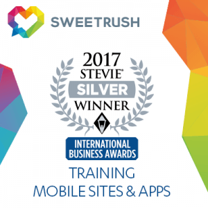 SweetRush Wins Silver Stevie Award For A Mobile Learning Game thumbnail