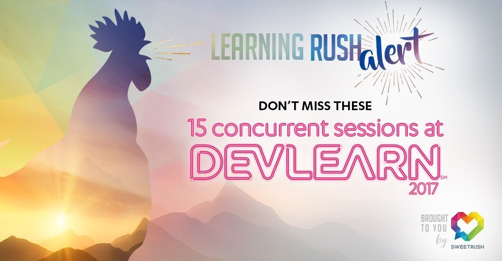 Don't miss these 15 concurrent sessions at DevLearn 2017! thumbnail