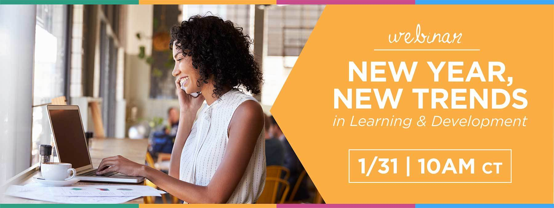 Webinar: New Year, New Trends in Learning & Development thumbnail