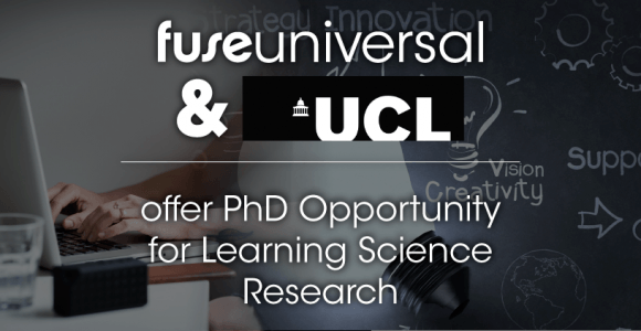 Fuse Universal And UCL Offer PhD Opportunity For Learning Science Research - eLearning Industry thumbnail
