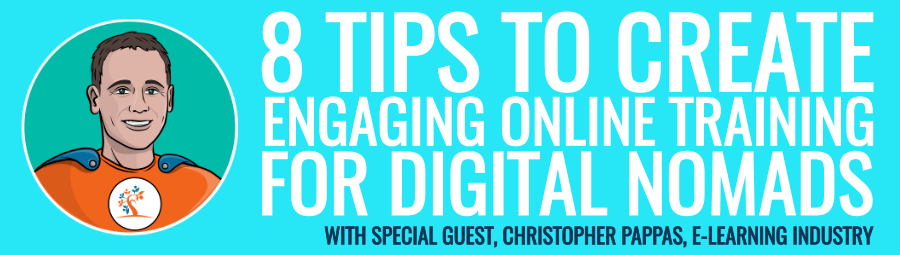 8 Tips To Create Online Training For Digital Nomads thumbnail