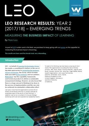 LEO/Watershed Report On The Business Impact Of Learning - eLearning Industry thumbnail
