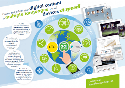 LEO And RWS Bring Digital Content Solution To Market - eLearning Industry thumbnail
