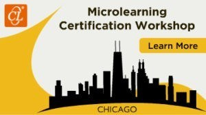 Microlearning Certification Workshop 2018 – Chicago - eLearning Industry thumbnail