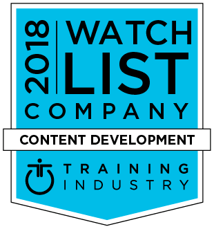 d'Vinci Interactive Named To Training Industry Content Development Watch List